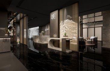 郑州品尚中餐厅装修设计案例
