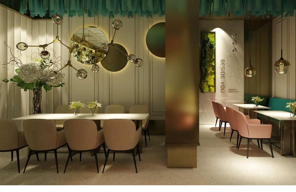 郑州西餐厅装修设计的软装饰注意哪些