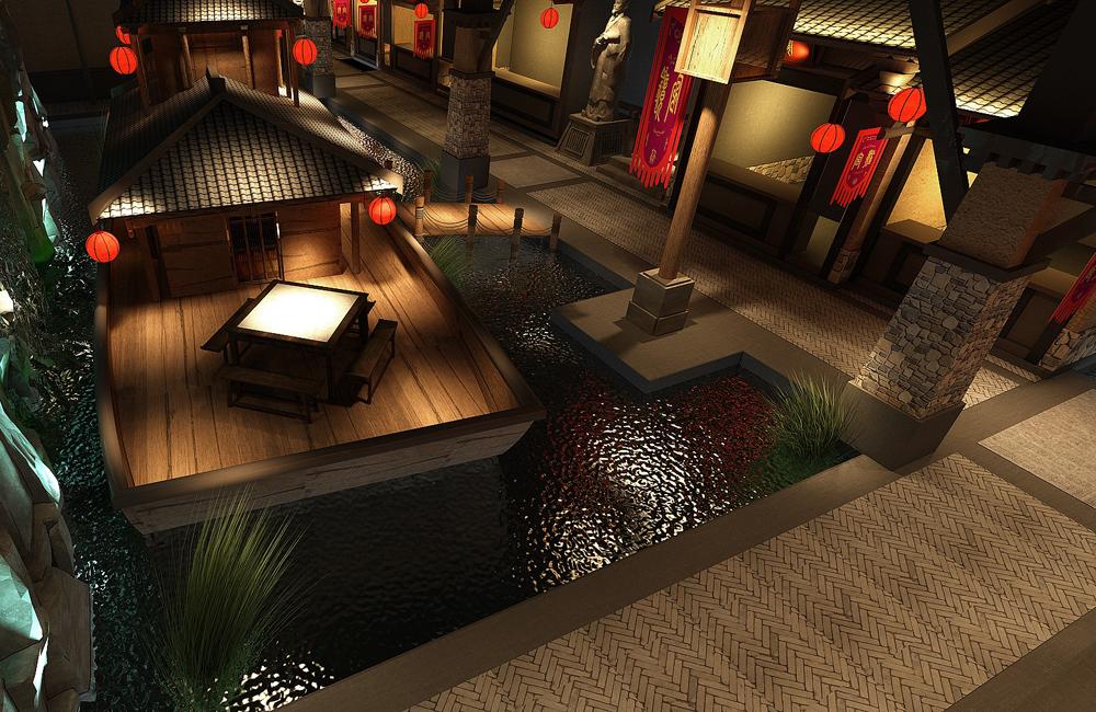 洛阳水秀宴中餐馆装修设计